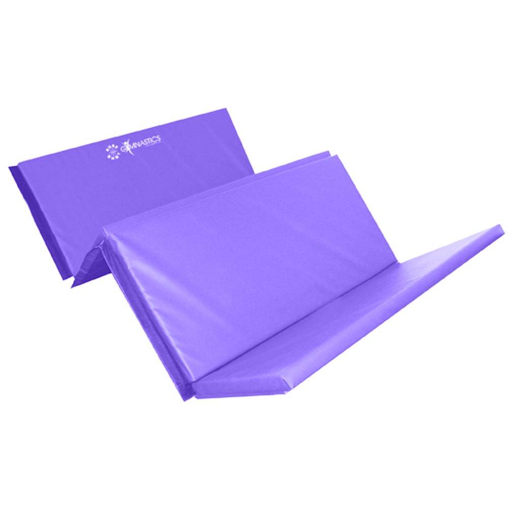 Sure Shot Foldable 4 Fold Mat 50mm Purple Urban Sports